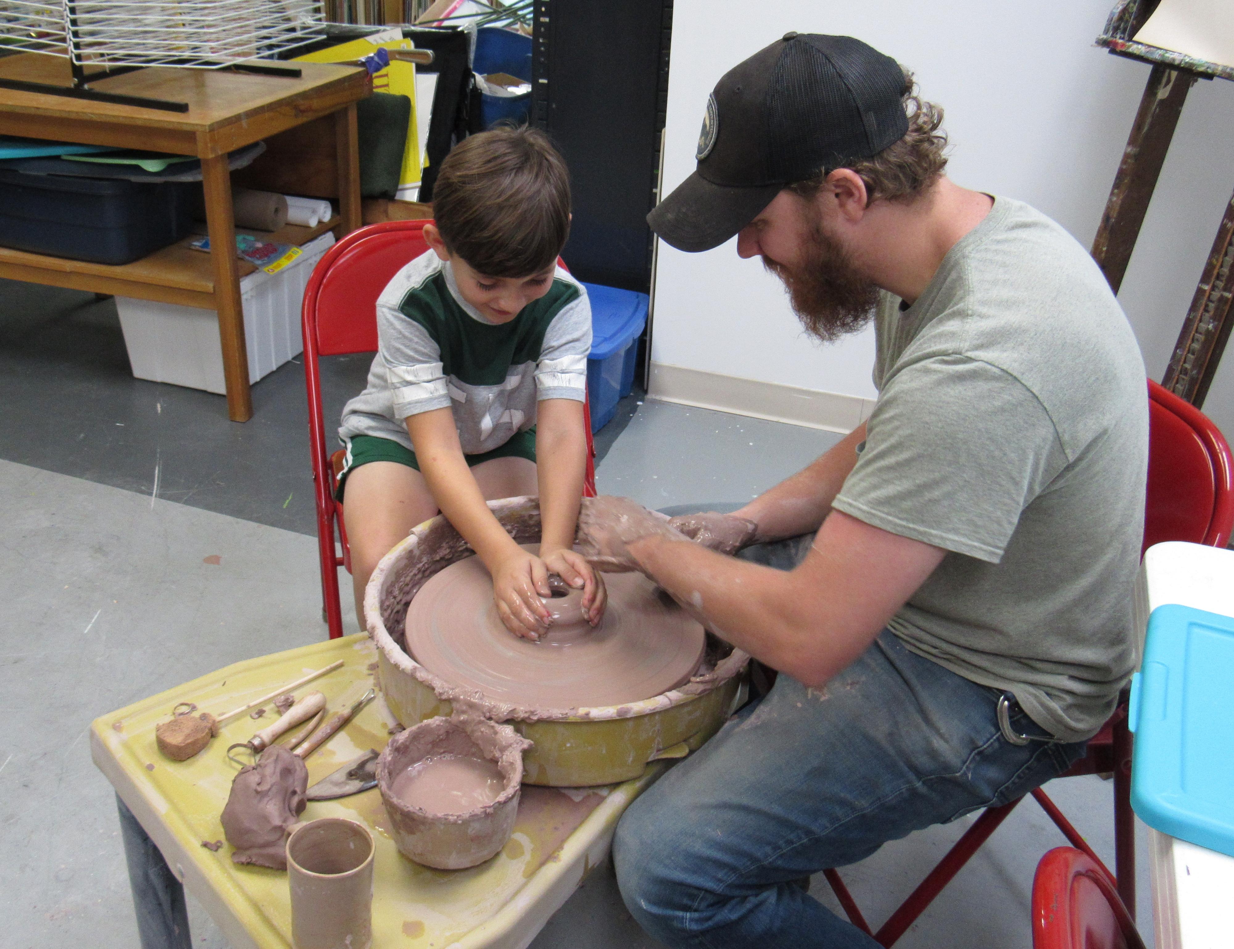Ceramics Camp Anderson Museum Of Art