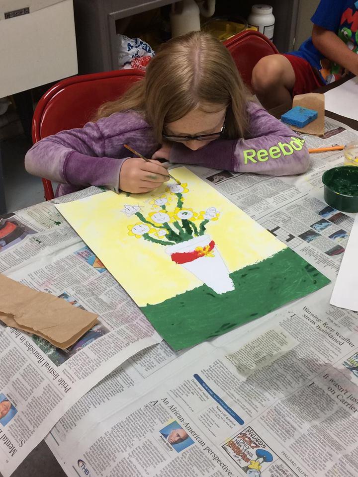 Drawing, Painting, & Printmaking Camp